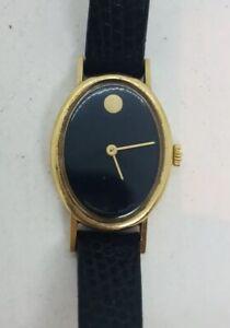 Movado Zenith Vintage 14k Yellow Gold Manual Wind Ladies Watch