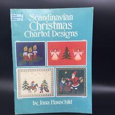 Jana Hauschild Scandinavian Christmas Charted Designs By  Dover Needlework