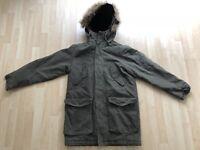 Herren Parka Winterjacke Jacke - oliv - Größe M - H&M - 99€ gefüttert