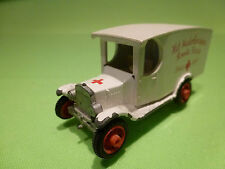 EFSI HOLLAND T-FORD 1919 - AMBULANCE ROODE KRUIS 1:65?- RARE SELTEN - GOOD COND.