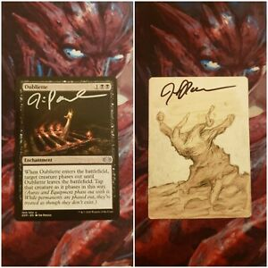 Oubliette Double Masters Signed and Sketched Artist Proof MTG
