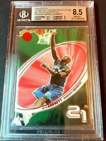 MISSING SERIAL# BGS 8.5 2004 Fleer EX Essential Credentials Future Kevin Garnett