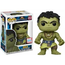 Funko Pop Marvel 253 Thor Ragnarok Casual Hulk 2017 NYCC Convention