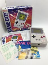 Rare Boxed Nintendo Gameboy DMG The Basic Set Near Mint Condition