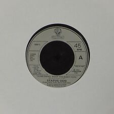 "STATUS QUO 'SOMETHING 'BOUT YOU BABY I LIKE' FRENCH IMPORT 7"" SINGLE"