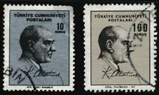 A set of 2 used stamps, ATATURK, Issue 1965