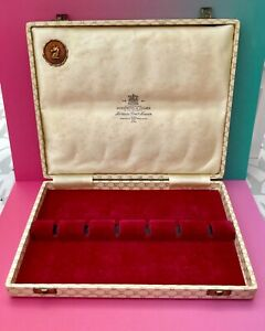 ANTIQUE BOX HARRISON BROS HOWSON CUTLERS TO HIS MAJESTY UNIVERSAL GRINDING CO