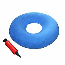 """Kovira Inflatable 15"""" Coccyx Donut Cushion Pillow with Pump"""