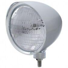 "UNITED PACIFIC 32515 - ""CHOPPER"" Headlight w/ Smooth Visor - 6014 Bulb"