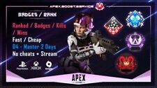 Apex Legends RANK Boost to PRED/MASTER | BADGES 4K 20 KILLS  | PC | PS4 | XBOX
