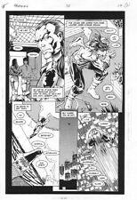 Hawkman #30 p.17 - Hawkman Possessed - 1996 art by Anthony Castrillo
