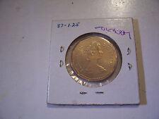 CANADAIN  LOONIE 1987 CANADA DOLLAR COIN ORIGINAL