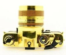 CONTAX RTS Gold 50th Anniversary Model + Carl Zeiss Planar f/1.4