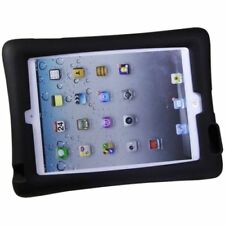 Kids iPad 2/3/4 Shock Proof Tough flexible Rubber Case cover in Black