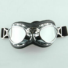 Pilot Aviator Vintage Motorcycle Goggles Eyewear Glasses Riding Racing Adult