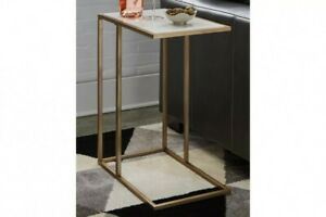 Lanport Champagne Accent Table A4000236