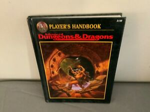 Players Handbook 2nd Edition Book 2159 AD&D Advanced Dungeons and Dragons