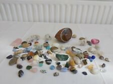 Job Lot Collectable Chrystals Polished Stones Amethyst Quarts More S5