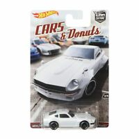 Hot Wheels Car Culture Custom Datsun 240Z Cars and Donuts Series Real Riders NIB