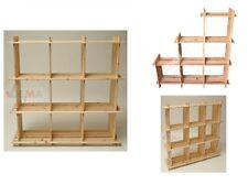 Dema Holzregal mit 6 Fächer auch für Schräge geeignet 113x27x110 Cm (15016)