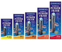 INTERPET INTERNAL POWER FILTER PF MINI,1,2,3,4 FISH TANK AQUARIUM WATER PUMP