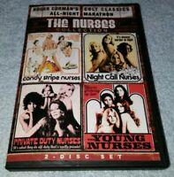 Roger Corman Cult Classics All-Night Marathon The Nurses Collection DVD RARE oop