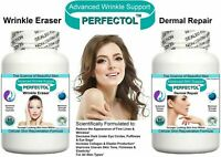 ANTI AGING PILLS TABLETS WRINKLE BLEMISH SKIN TONE REMOVE AGE SPOTS FINE LINES