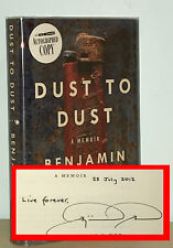 Benjamin Busch - Dust to Dust - SIGNED 1st 1st - Son of Frederick Busch - NR