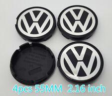 4pcs*55MM VW VOLKSWAGEN WHEEL RIM CENTER HUB CAPS FIT BEETLE JETTA CABRIO GOLF