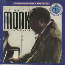 Thelonious Monk : The Composer (CD 1988)  **NR. MINT**  FREE!! UK 24-HR POST!!