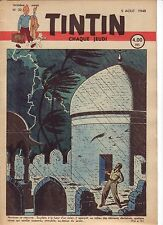 TINTIN 1948 n° 32 couverture de Jacobs TBE