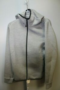 Uniqlo Ultra Stretch Dry Sweat Full Zip Hoodie Color: Gray Size: Medium Nwt