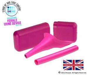 Shewee Flexi + Case - The ORIGINAL Female Urination Device - Pink