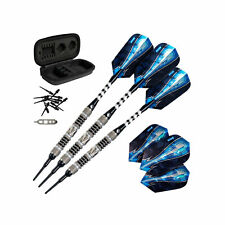 Viper Astro Tungsten Soft Tip Darts 16g with Travel Case, Black Rings