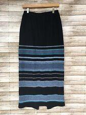 Double D Ranch Yoakum, Texas Long Maxi Skirt Small 100% Lambswool Elastic Waist