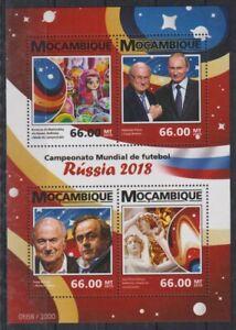O796. Mozambique - MNH - 2015 - Sports - Football - Russia
