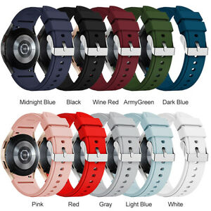 Silicone Replacement Watch Band Strap for Samsung Galaxy Watch 4 40/42/44/46MM