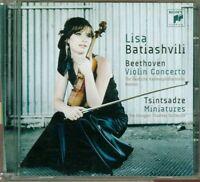 Lisa Batiashvili - Beethoven Violin Concerto / Tsintsadze Miniatures Cd Perfetto