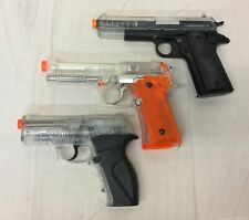 Lot of 3 Airsoft Pistols 2 Crosman & 1 Other