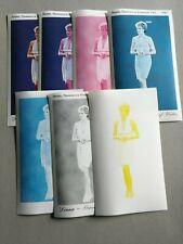 Sellos Turkmenistán. Hojitas nuevas  MNH. Diana con distintas fases de color.