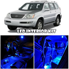 For 03-09 Lexus GX470 SUV BLUE Full Xenon Interior LED Light Bulb Kit