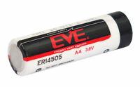 EVE ER14505 LS14500 AA 3,6 V Lithium chlorure de thionyl (lisocl2) max. 2700 mAh