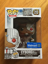 Cyborg & Motherbox Justice League Funko Pop Walmart Exclusive