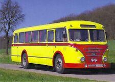 Postkarte: historischer Omnibus Bauart IFA, Wagen 553 Typ H6B-L, 1957, Leipzig
