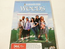 "WEEDS, COMPLETE FIRST SEASON, COMEDY DVD R4 ""watched once"" AUZ SELLER"