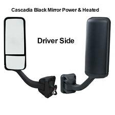 Freightliner Cascadia Black Door Mirror Driver Side Power & Heated A22-60713-002