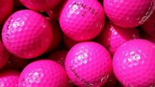 50 Golfbälle pink, rosa, NEU, Turnierqualität, 432 Dimple  APM-TEC Z-03