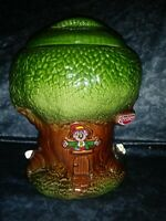 Vintage 1981 Keebler Co. Keebler Elf Tree Cookie Jar by  Royal Haeger Pottery