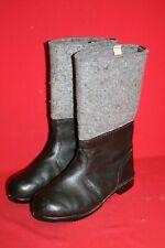 Original NVA Thermostiefel Filzstiefel Winter Leder Stiefel Gr. 42 DDR 28 Nr. 16