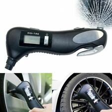 Well 4in1 Auto Multifunctional Tire Gauge Safety Hammer Torch Seatbelt Cutter